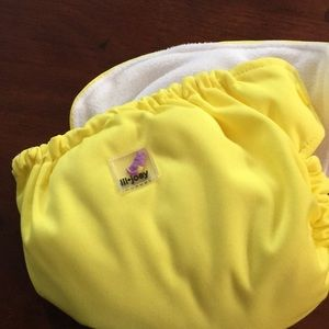 lil Joey infant diaper 3 month size